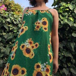 Vintage(?) Sunflower Slip Dress